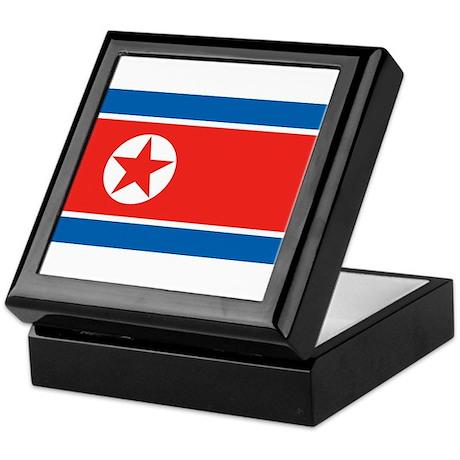 North Korea Keepsake Box