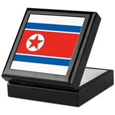 North Korea Keepsake Box