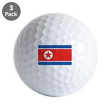 North Korea Golf Ball