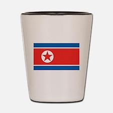 North Korea Shot Glass