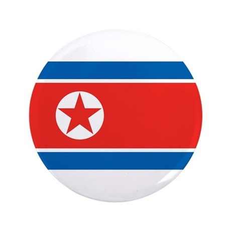 "North Korea 3.5"" Button (100 pack)"
