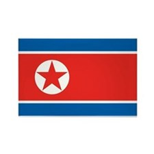 North Korea Rectangle Magnet (100 pack)