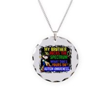 Rocks Spectrum Autism Necklace