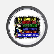 Rocks Spectrum Autism Wall Clock
