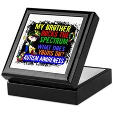 Rocks Spectrum Autism Keepsake Box