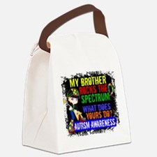 Rocks Spectrum Autism Canvas Lunch Bag