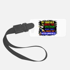 Rocks Spectrum Autism Luggage Tag