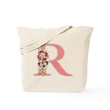 Monogram Letter R Tote Bag
