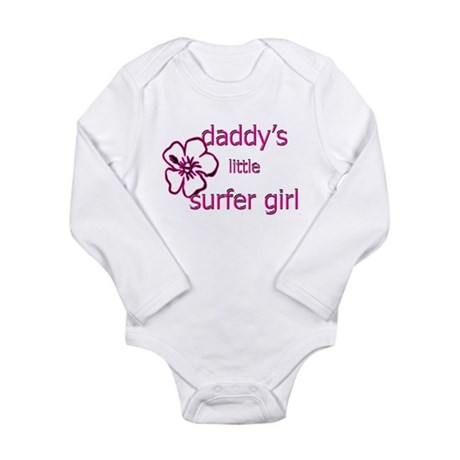 Daddy's Little Surfer Girl Body Suit