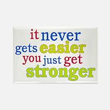 It Never Gets Easier, You Just Get Stronger Rectan