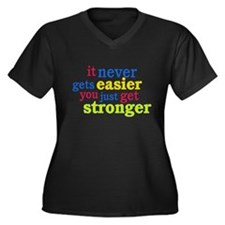 It Never Gets Easier, You Just Get Stronger Plus S