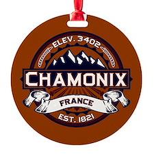 Chamonix Vibrant Ornament