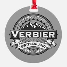 Verbier Grey Ornament