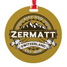 Zermatt Tan Ornament