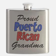 Proud Puerto Rican Grandma Flask