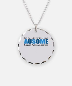 Im not different, I am Ausome! Necklace
