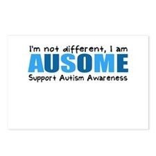 Im not different, I am Ausome! Postcards (Package