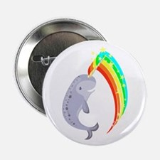 "Magical Narwhal 2.25"" Button"