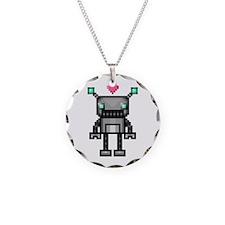 Robot Circle Necklace