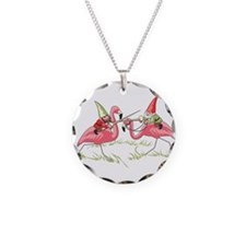 Jousting Gnomes Circle Necklace