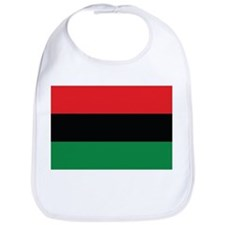 The Red, Black and Green Flag Bib