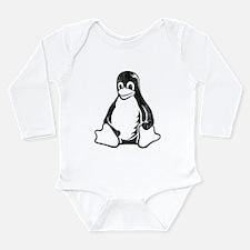linux tux penguin Body Suit