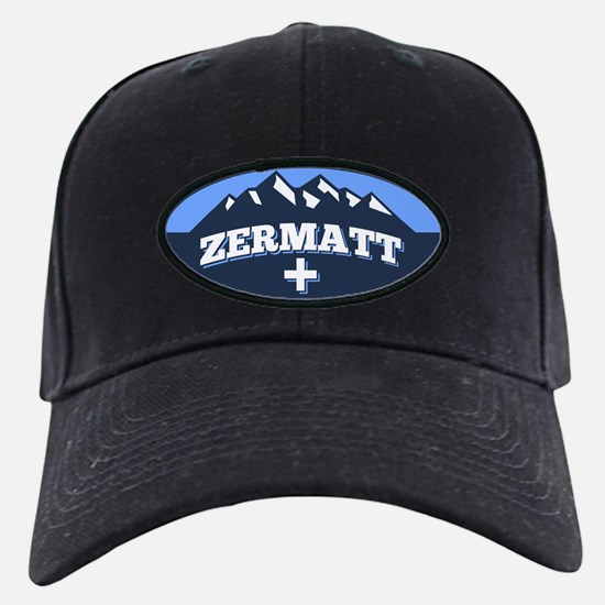 Zermatt Logo Blue.png Baseball Hat
