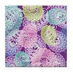 Paisley Dream Tile Coaster