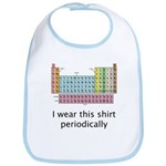 I Wear This Shirt Periodically Bib