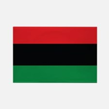 The Red, Black and Green Flag Rectangle Magnet (10