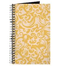 Mimosa & Linen Swirls Journal