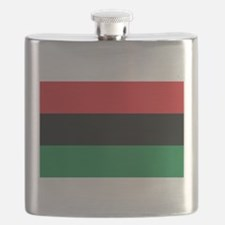 The Red, Black and Green Flag Flask