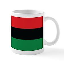 The Red, Black and Green Flag Small Mug