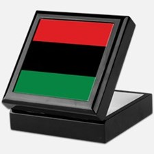 The Red, Black and Green Flag Keepsake Box