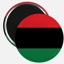 The Red, Black and Green Flag Magnet
