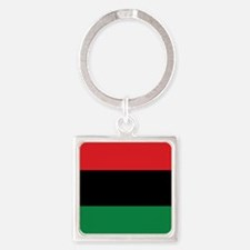 The Red, Black and Green Flag Keychains
