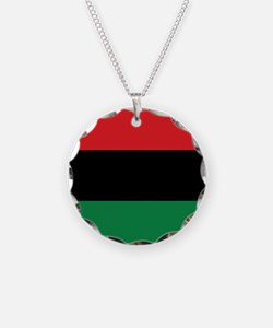 The Red, Black and Green Flag Necklace