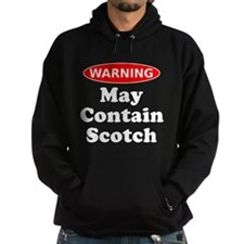 May Contain Scotch Warning Hoodie