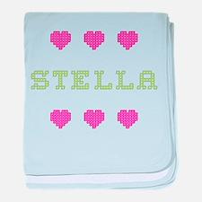 Stella baby blanket