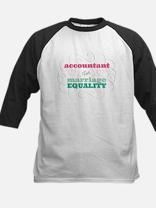Accountant for Equality Baseball Jersey