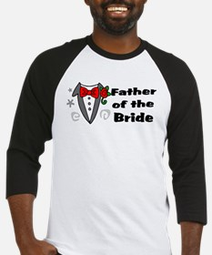 Father Of Bride Baseball Jersey
