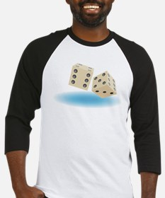 dice front.png Baseball Jersey
