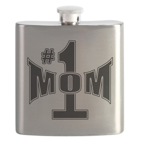 Number one mom Flask