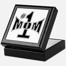 Number one mom Keepsake Box