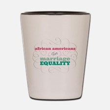 African Americans for Equality Shot Glass