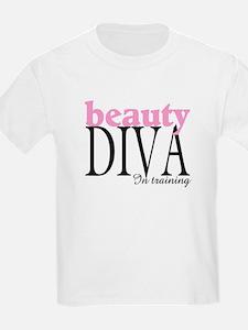 Beauty Diva In Training Kids T-Shirt