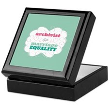 Archivist for Equality Keepsake Box