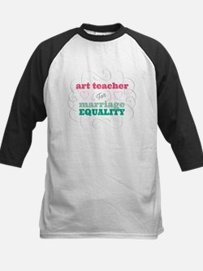 Art Teacher for Equality Baseball Jersey