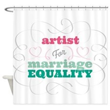 Artist for Equality Shower Curtain