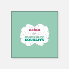 Asian for Equality Sticker